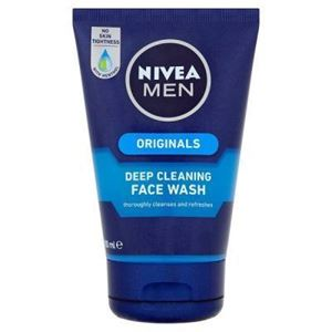 NIVEA MEN Deep Cleaning Face Wash 100ml এর ছবি