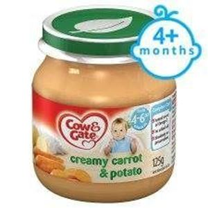 Picture of Cow & Gate Creamy Carrot And Potato Jar 125G 4