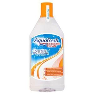 Picture of Aquafresh Extreme Clean Mouthwash 500Ml