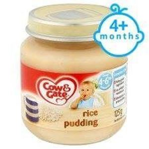 Picture of Cow & Gate Rice Pudding Jar 4 Mth+ 125G