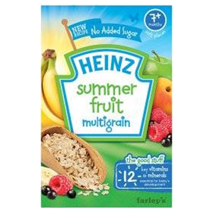 Picture of Heinz Summer Fruits Cereal