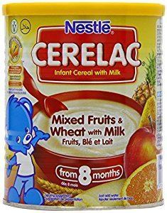 Picture of Nestle Cerelac 3 Fruits Cereal Baby Food 8 Mths 400G