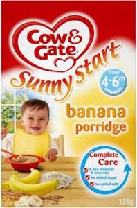 Picture of Cow & Gate_Banana Porridge From 4-6m onwards 125g