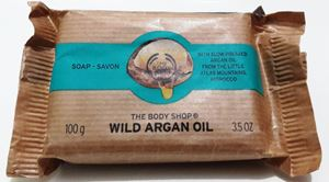 Picture of The Body Shop Wild Argan Oil  Soap 100g