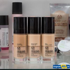 The Body Shop Fresh Nude Foundation 30ml - BORA BORA TIARE 012 এর ছবি