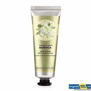 The Body Shop Moringa Hand Cream এর ছবি