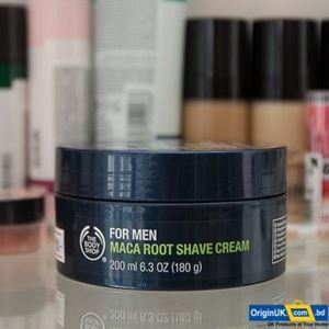 The Body Shop For Men Maca Root Shave Cream 200ml এর ছবি