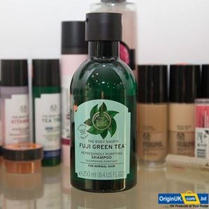 The Body Shop Fuji Green Tea Refreshingly Purifying Shampoo 250ml এর ছবি