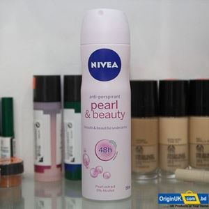 Nivea_anti-perspirant Pearl & Beauty Body Spray, 150ml এর ছবি