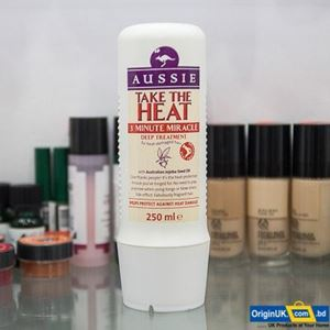 Picture of Aussie 3 Minute Miracle Take The Heat Intensive Hair Shampoo+Conditioner, 250ml