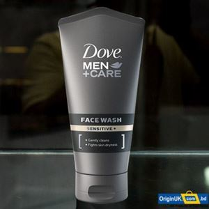 Dove Men+Care Sensitive Face Wash 150ml এর ছবি
