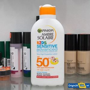 Garnier Ambre Solaire Kids Sensitive Sun Cream SPF50+ 2OOML এর ছবি