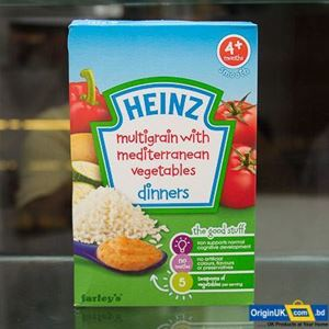 Picture of Hienz Multigrain wiith  mediterraneam  vegetablees  dinners 4+ 125g