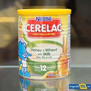Nestle Cerelac Wheet and Honey With Milk  400g এর ছবি