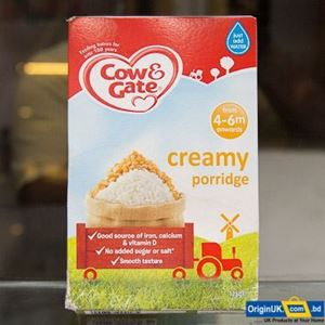Picture of Cow & Gate creamy porridge 4-6m onwards 125g