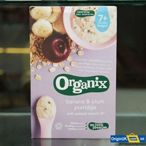 Picture of Organix_Banana, Plum & Porridge 7+,  200g