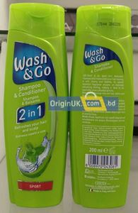 Picture of Wash & Go Sport 2in1 Shampoo & Conditioner 200ml