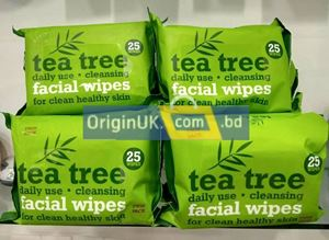 Picture of Tea Tree Facial Wipes 25 pcs