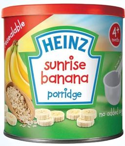 Picture of Heinz Sunrise Banana Porridge 4+ 240G