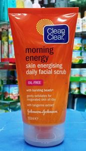 Picture of Clean & Clear Morning Energy Skin Energising Daily Facial Scrub 150ML